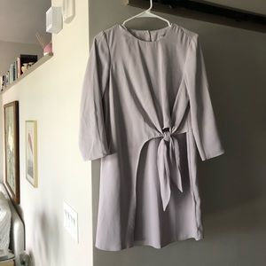 Lavender ASOS wrap dress